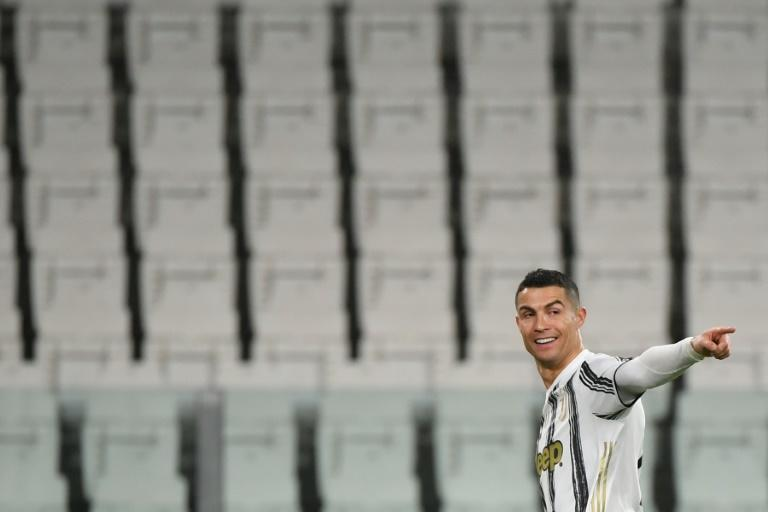 Ronaldo scored his 16th league goal of the season the day after his 36th birthday