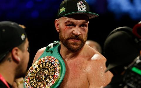 Fury should be fully recovered by the spring - Credit: Reuters