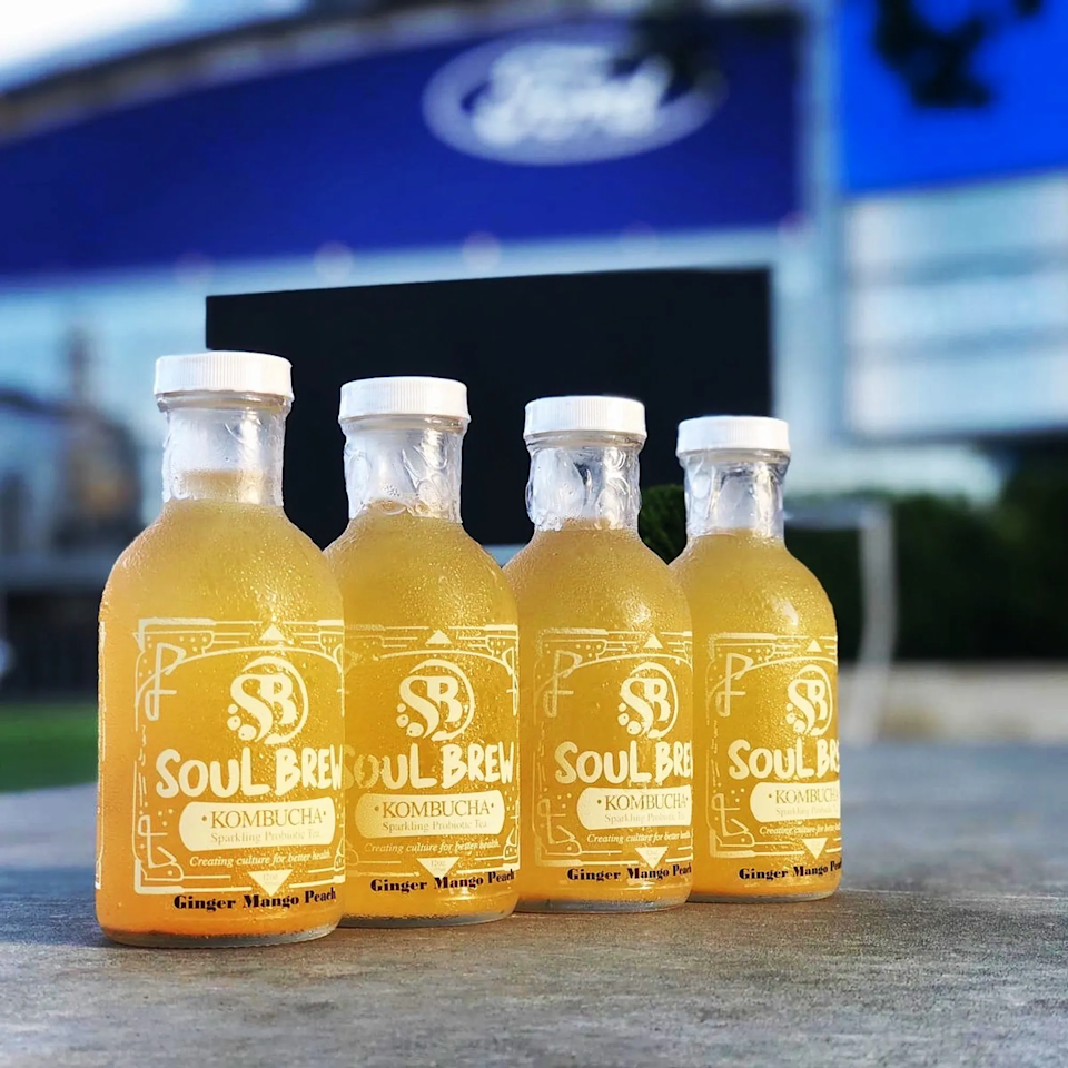 "<h2>Soul Brew Ginger Mango Peach Kombucha</h2><br>For the mom who's been into gut health before it was cool, gift her a 12-pack of this 100% organic hand-crafted kombucha. <br><br><strong>Soul Brew Kombucha</strong> Ginger Mango Peach Kombucha (12-Pack), $, available at <a href=""https://go.skimresources.com/?id=30283X879131&url=https%3A%2F%2Fmysoulbrew.com%2Forder-online-1%2Fols%2Fproducts%2Fginger-mango-peach-gmp%2Fv%2FGNG-MNG-PCH-GMP-12-PCK"" rel=""nofollow noopener"" target=""_blank"" data-ylk=""slk:Soul Brew Kombucha"" class=""link rapid-noclick-resp"">Soul Brew Kombucha</a>"