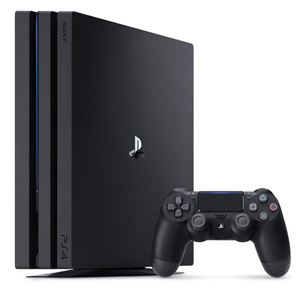 Sony PlayStation 4 Pro 1TB Gaming Console (Photo: Walmart)