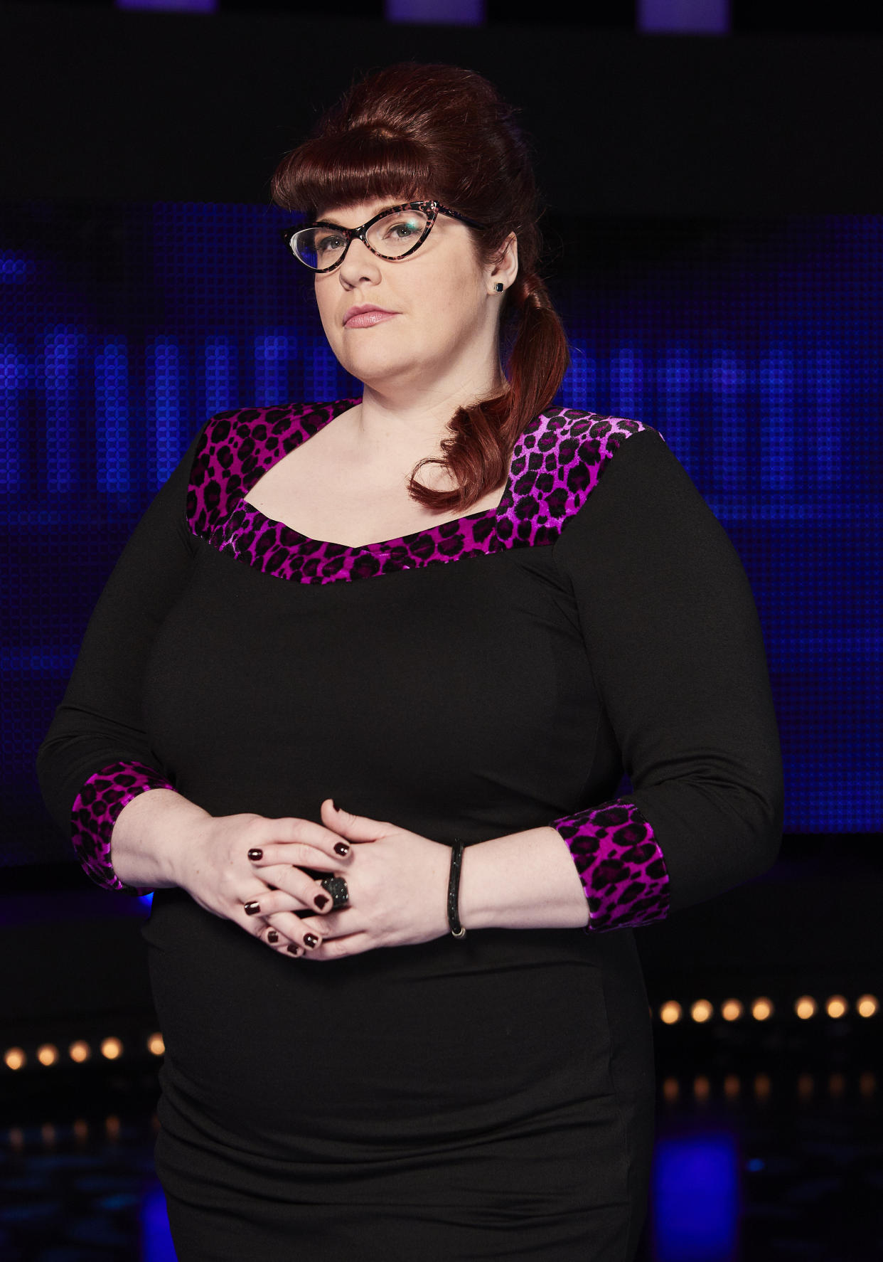 Jenny Ryan goes by 'The Vixen' on The Chase. ITV)