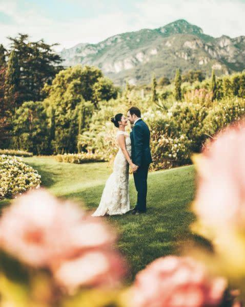 """""""Nick and I photographed the longest wedding we have ever had to date in Italy, one of the most beautiful countries in the world, and it was no less than amazing."""" --&nbsp;<i>Lauren Laveria</i>"""