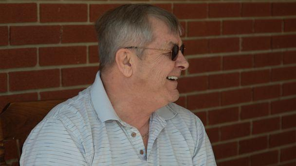 PHOTO: John Briscoe, 63, suffers from dementia. His wife Bonnie spent weeks trying to find John, who is home-bound, a vaccine appointment. (ABC News)