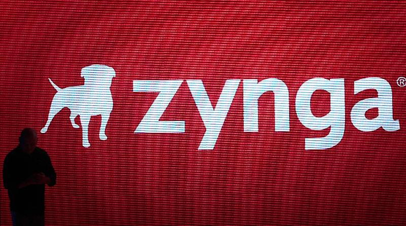 FILE - In this Tuesday, Oct. 11, 2011, file photo, Zynga general manager Erik Bethke speaks at a Zynga event in San Francisco, Online games company Zynga said Thursday, Dec. 6, 2012, it has asked Nevada gambling regulators for a decision that could pave the way for it to enter the U.S. gambling market.  (AP Photo/Jeff Chiu)