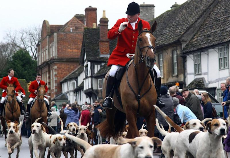 The plan also includes proposals to tighten up fox-hunting laws (Getty Images)