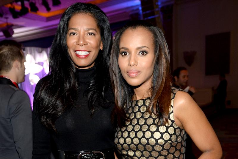 Kerry Washington shares photo from Scandal wrap party with 'OG' Olivia Pope