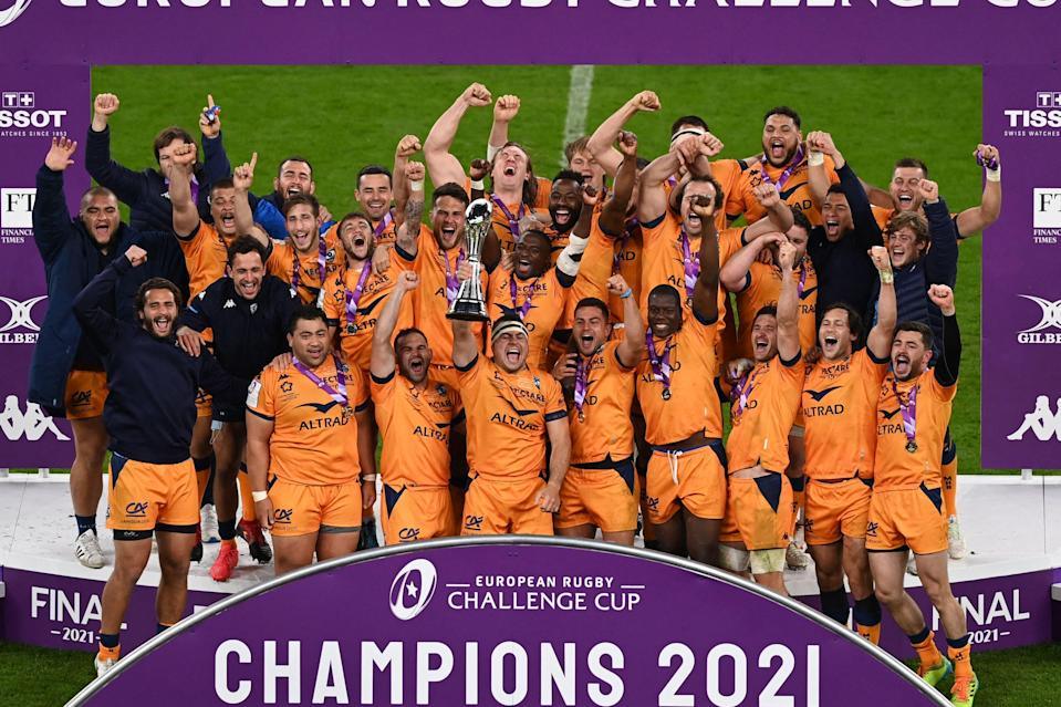 Montpellier also won the European Challenge Cup in 2016AFP via Getty Images