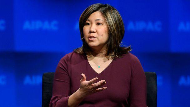 PHOTO: In this March 25, 2019, file photo, Representative Grace Meng speaks at a conference in Washington, D.C. (Michael Brochstein/SOPA Images/LightRocket via Getty Images, FILE)