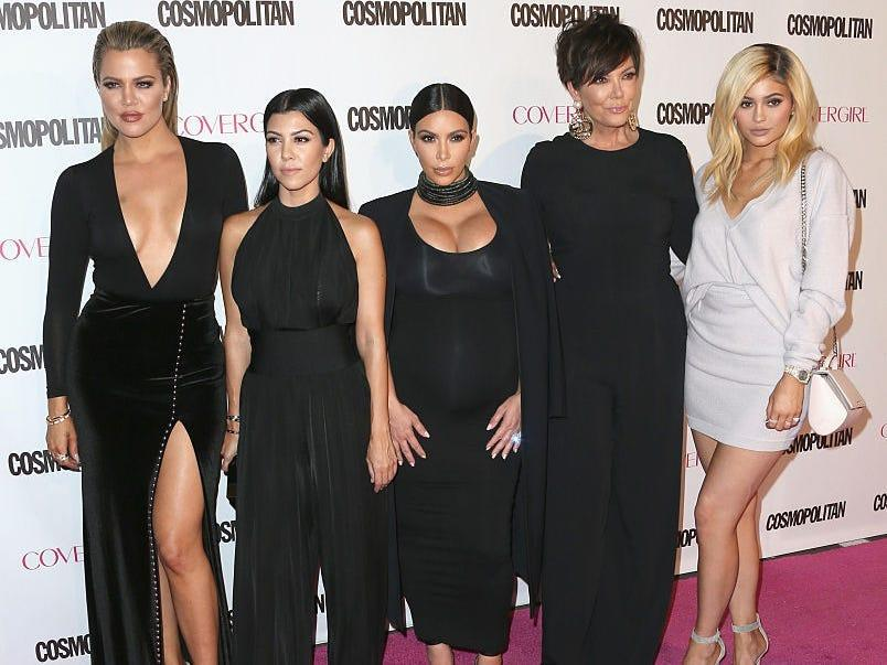 The kardashians girl squad