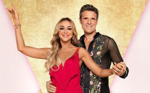 James Cracknell and Luba Mushtuk were the first couple to be voted off in Strictly Come Dancing 2019