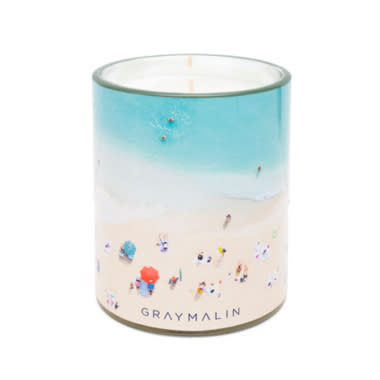 gray malin beach candle, saks friends and family sale