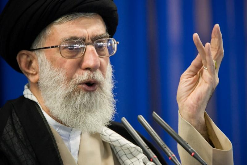 Iran's Supreme Leader Khamenei Calls Israel a Cancerous Tumour to be Destroyed