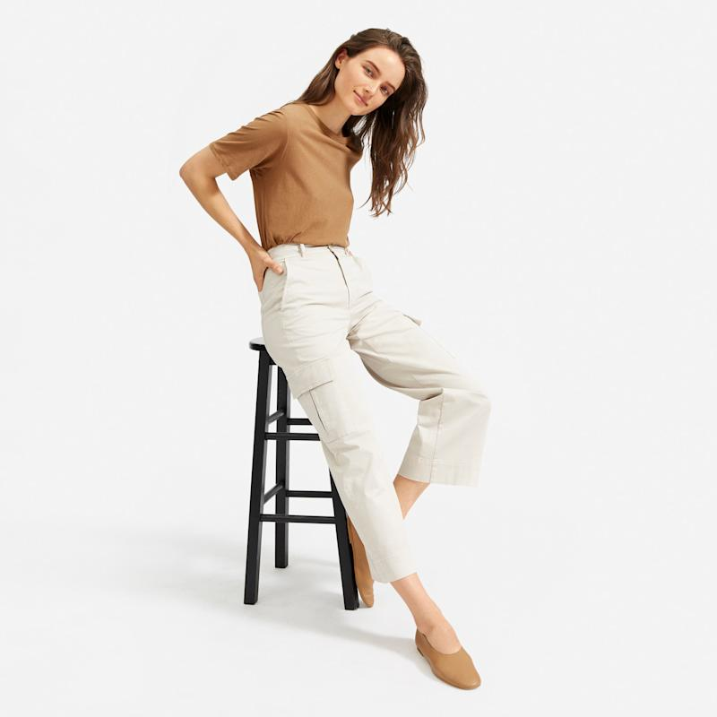 Oversized pockets give these pants both form and function. (Photo: Everlane)