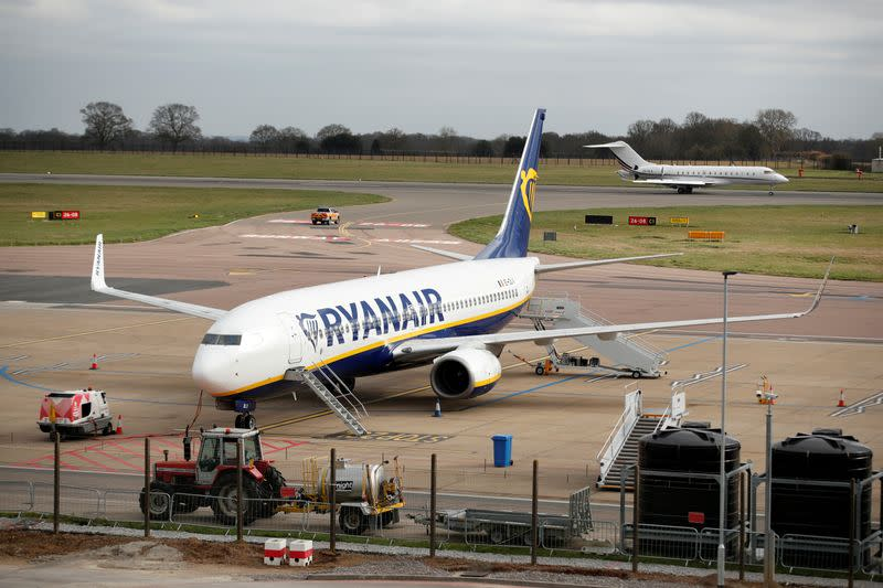 Exclusive: Ryanair sees price war fuelling rapid air travel recovery