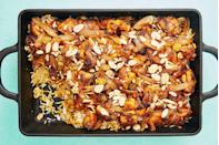 """<p>Much easier than it looks.</p><p>Get the recipe from <a href=""""https://www.delish.com/cooking/recipe-ideas/a29499926/chicken-biryani/"""" rel=""""nofollow noopener"""" target=""""_blank"""" data-ylk=""""slk:Delish"""" class=""""link rapid-noclick-resp"""">Delish</a>.</p>"""