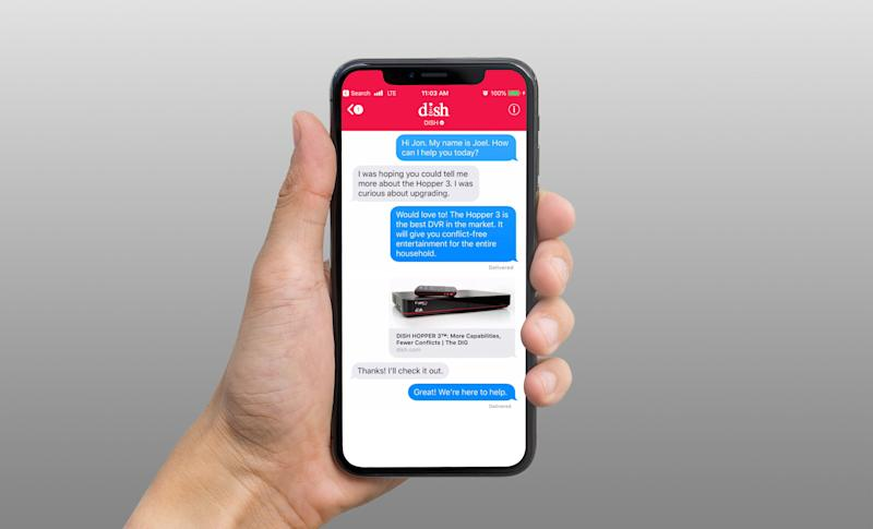 Dish is the first TV provider to offer support for Apple's Business Chat