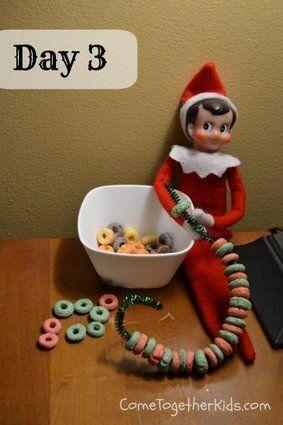 What is it doing with that pipe cleaner? Where did he get that pipe cleaner? Why is he eating my Fruit Loops?