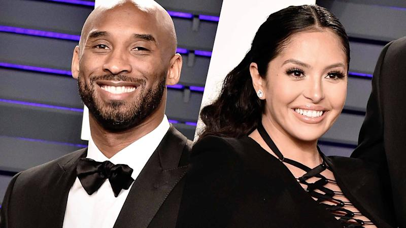 Kobe Bryant and wife Vanessa share first photo of newborn daughter