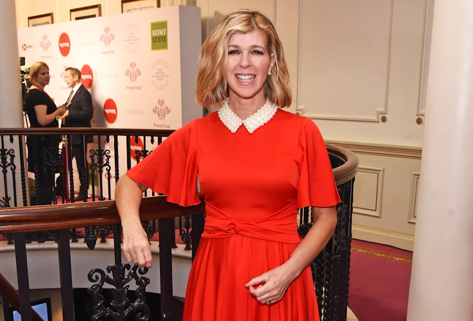 LONDON, ENGLAND - MARCH 11:  Kate Garraway attends The Prince's Trust and TKMaxx & Homesense Awards at The London Palladium on March 11, 2020 in London, England.  (Photo by David M. Benett/Dave Benett/Getty Images)