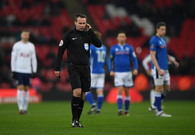 VAR-cical! Tottenham have two goals disallowed vs Rochdale at Wembley
