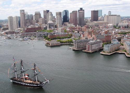 USS constitution boston harbor
