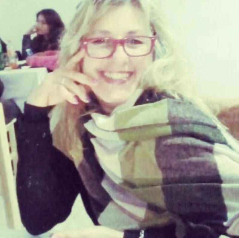 Monica Paporello is pictured smiling at a restaurant. Source: Newsflash/Australscope