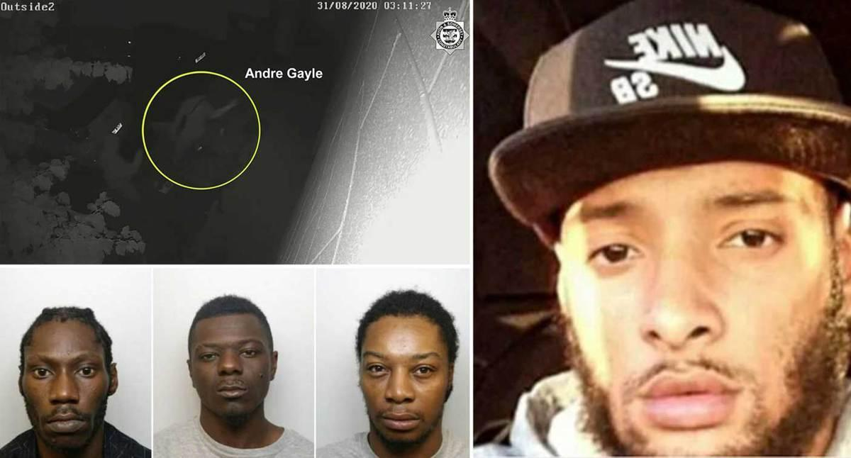 Andre Gayle, 29, was stabbed nine times in the early hours of August 31 last year in an alleyway close to Easton Community Centre, Bristol (swns)