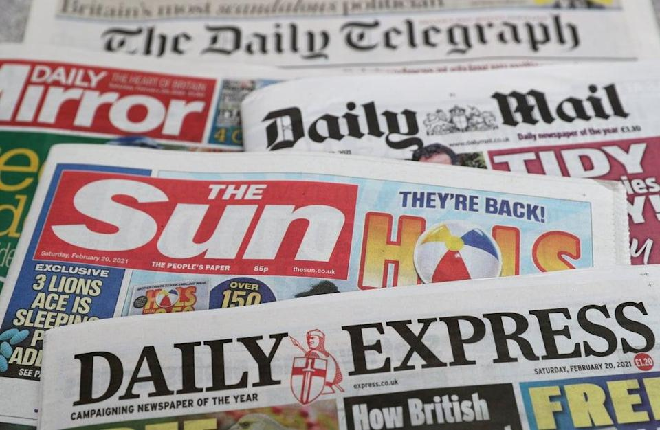 What the papers say – September 13 (PA) (PA Archive)