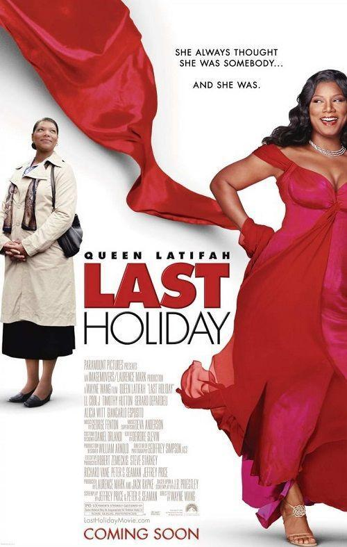 """<p>In this heartwarming rom-com drama, Queen Latifah plays a small-town saleswoman who spends her life savings on a holiday trip to Europe after finding out she has a terminal illness ... except there's a twist! </p><p><a class=""""link rapid-noclick-resp"""" href=""""https://www.amazon.com/Last-Holiday-LL-Cool-J/dp/B000I52LUY/?tag=syn-yahoo-20&ascsubtag=%5Bartid%7C10055.g.1315%5Bsrc%7Cyahoo-us"""" rel=""""nofollow noopener"""" target=""""_blank"""" data-ylk=""""slk:WATCH NOW"""">WATCH NOW</a></p>"""
