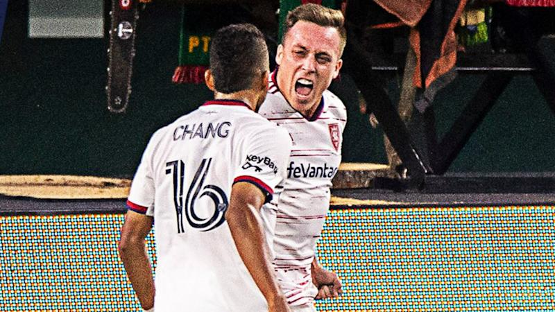 MLS: RSL salvage last-gasp 4-4 draw against Timbers, Galaxy win five-goal thriller