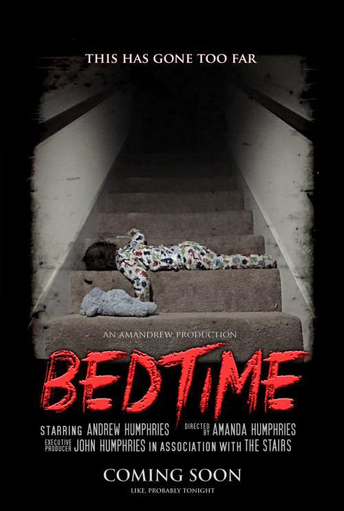 Dads Fake Movie Poster Captures Bedtime Drama