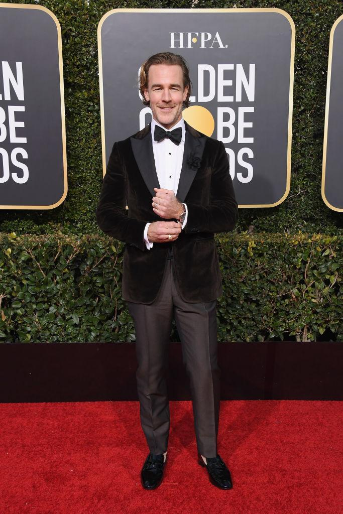 <p>James Van Der Beek attends the 76th Annual Golden Globe Awards at the Beverly Hilton Hotel in Beverly Hills, Calif., on Jan. 6, 2019. (Photo: Getty Images) </p>