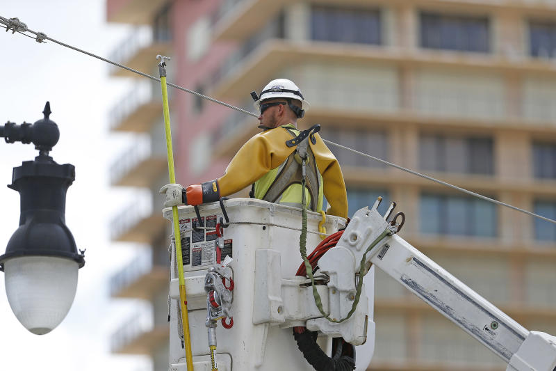 Electric company lineman missed his son s wedding after Irma   God put us  here to restore power  2a0f372a17ea