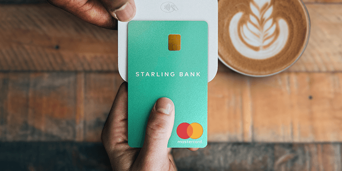 The Starling Bank card. Photo: Starling