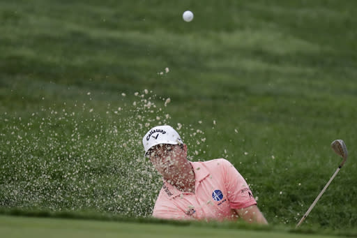 Stuard, Hahn, Percy share Safeway Open lead at Silverado