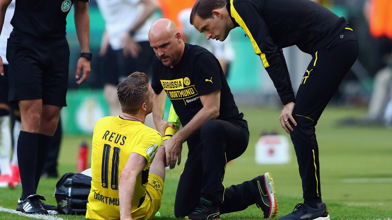 The Germany international was dealt yet another injury blow in Saturday's DFB-Pokal final win and will be out of action for a number of months