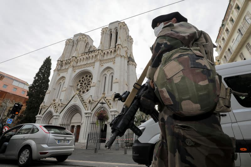 France on alert as official warns of more militant attacks after Nice church killings