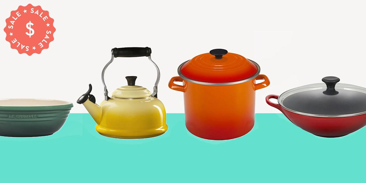"""<p>If the past few months have taught us anything, it's that your cookware is one of the most important investments you can make for your home. (Who would've thought 2020 would be the year we'd flex our culinary muscle?) But, if you're going to stock up on pots and pans, why not buy the best? Now through August 23, <a href=""""https://go.redirectingat.com?id=74968X1596630&url=https%3A%2F%2Fwww.lecreuset.com%2Ffactory-to-table-fall-2020&sref=https%3A%2F%2Fwww.goodhousekeeping.com%2Flife%2Fmoney%2Fg33563225%2Fle-creuset-factory-sale-august-2020%2F"""" target=""""_blank"""">Le Creuset is hosting its Factory to Table sale, </a>where you can save up to 70% off the brand's popular products. </p><p>With a cast-iron interior and colorful enamel exterior, Le Creuset is the gold standard of cookware. It doesn't matter if you want to replace all your ho-hum cookware or pick up Le Creuset's popular <a href=""""https://go.redirectingat.com?id=74968X1596630&url=https%3A%2F%2Fwww.lecreuset.com%2Fround-wide-dutch-oven---factory-to-table-sale-3-1-2-qt.%2FLS2552-FTT.html&sref=https%3A%2F%2Fwww.goodhousekeeping.com%2Flife%2Fmoney%2Fg33563225%2Fle-creuset-factory-sale-august-2020%2F"""" target=""""_blank"""">Dutch Oven,</a> <a href=""""https://go.redirectingat.com?id=74968X1596630&url=https%3A%2F%2Fwww.lecreuset.com%2Ffactory-to-table-fall-2020&sref=https%3A%2F%2Fwww.goodhousekeeping.com%2Flife%2Fmoney%2Fg33563225%2Fle-creuset-factory-sale-august-2020%2F"""" target=""""_blank"""">the Factory to Table sale</a> has something for every home chef—and at a steep discount, no less. Go ahead, check out these awesome deals below. All you have to do is add your favorites to your cart and watch those deals come pouring in...</p>"""