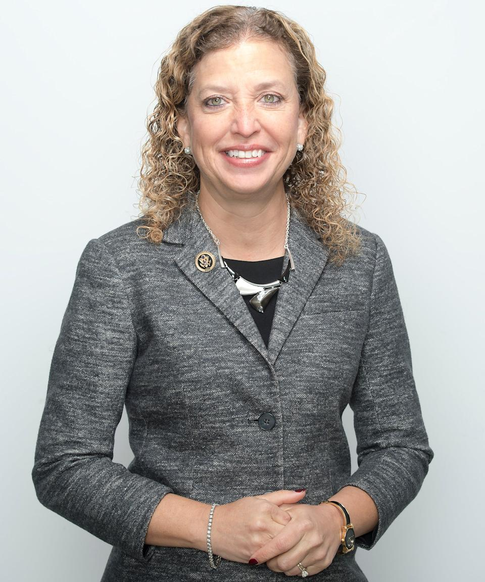 """<strong><h3><h2>Debbie Wasserman Schultz</h2></h3></strong><br>First sworn in to the U.S. House of Representatives in 2005, <a href=""""https://www.refinery29.com/en-us/2016/07/117714/debbie-wasserman-schultz-dnc-fired"""" rel=""""nofollow noopener"""" target=""""_blank"""" data-ylk=""""slk:Congresswoman Debbie Wasserman Schultz"""" class=""""link rapid-noclick-resp"""">Congresswoman Debbie Wasserman Schultz</a> also previously served in the Florida House of Representatives and Florida Senate. She's known for being ousted by the DNC after colluding against Bernie Sanders. However, she's also the reason <a href=""""https://www.jewishheritagemonth.gov/about/"""" rel=""""nofollow noopener"""" target=""""_blank"""" data-ylk=""""slk:May is Jewish American Heritage Month"""" class=""""link rapid-noclick-resp"""">May is Jewish American Heritage Month</a> — thanks to the resolution she wrote to reduce anti-Semitism, hate, and bigotry.<br> <br>Wasserman Schultz also <a href=""""https://ww5.komen.org/uploadedFiles/Content/OurPositions/Early_Detection_Issues/Joint%20Statement%20-%20Breast%20Cancer%20EARLY%20Act%20FINAL.pdf"""" rel=""""nofollow noopener"""" target=""""_blank"""" data-ylk=""""slk:introduced the EARLY Act"""" class=""""link rapid-noclick-resp"""">introduced the EARLY Act</a>, which serves to increase breast cancer education and awareness, and became law as part of the Affordable Care Act, signed by President Barack Obama in 2010. Continuing to advocate for young women, Wasserman Schultz introduced the <a href=""""https://www.congress.gov/bill/114th-congress/house-bill/1257/text"""" rel=""""nofollow noopener"""" target=""""_blank"""" data-ylk=""""slk:Rape Survivor Child Custody Act"""" class=""""link rapid-noclick-resp"""">Rape Survivor Child Custody Act</a> to demand that states allow women to terminate the parental rights of a rapist, which was passed by President Obama in 2015.<span class=""""copyright"""">Photo: Marvin Joseph/The Washington Post/Getty Images.</span>"""
