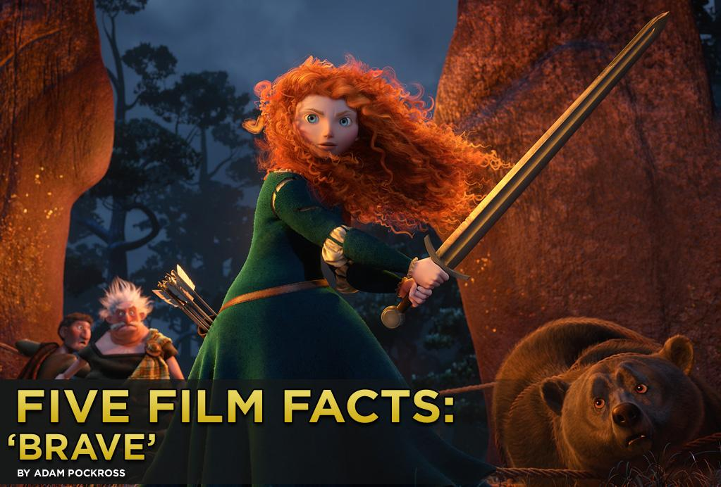 "The brilliant folks at Disney-Pixar are advancing animated possibilities yet again when ""<a href=""http://movies.yahoo.com/2012-summer-movies/brave-224351347.html"">Brave</a>"" opens this weekend. The film turns traditional fairytale telling upside down as it follows the adventures of Princess Merida and her gender-role-rejecting ways. We know Pixar will deliver a brave new world, but here are five facts you may not know about the film."