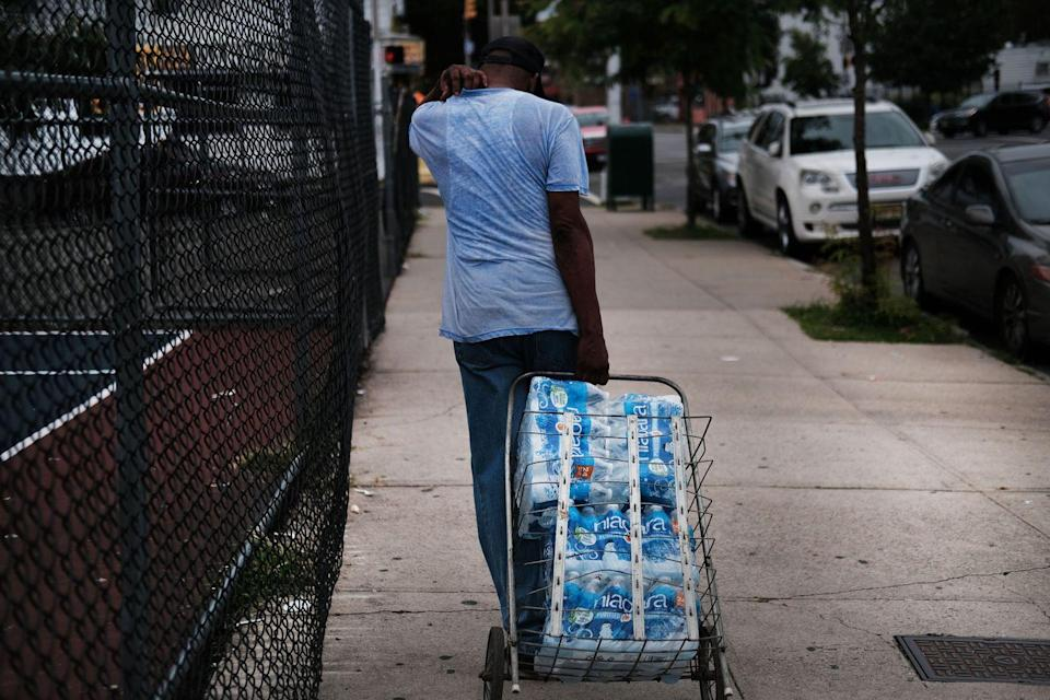 """<p>As this New Jersey city continues to battle the COVID-19 outbreak alongside cities across the globe, it also faces a water crisis. <a href=""""https://www.nj.com/news/2020/05/as-nj-city-battles-coronavirus-its-still-fixing-last-years-lead-crisis.html"""" rel=""""nofollow noopener"""" target=""""_blank"""" data-ylk=""""slk:Thousands of lead pipes"""" class=""""link rapid-noclick-resp"""">Thousands of lead pipes</a> throughout the city of Newark have led to water supplies throughout the community to be tainted and incredibly dangerous to the health and wellness of its residents. Throughout the pandemic, Newark has continued its plans to replace thousands of lead pipes throughout the waterlines to combat further contamination, but 8,000 lead lines still await replacement and cause water supplies throughout the city to be dangerous and potentially life threatening. </p>"""