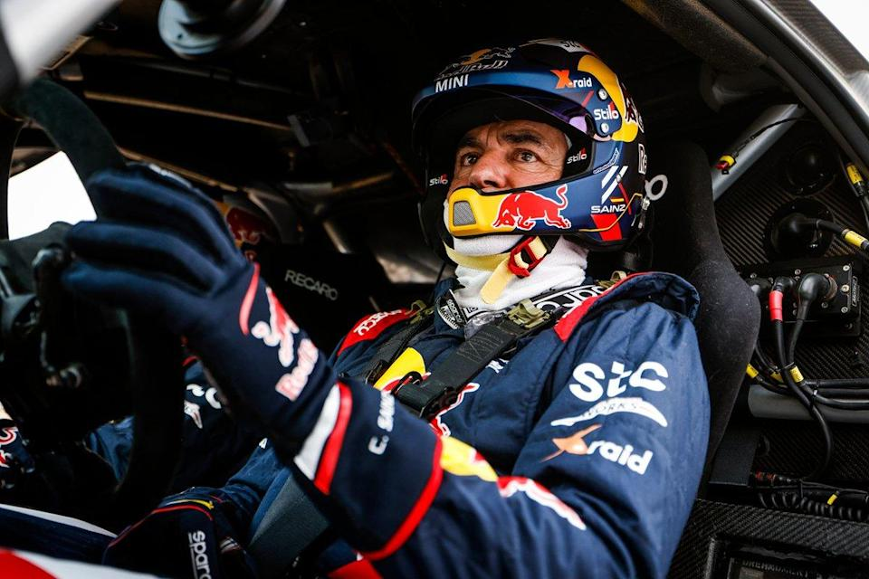 "#300 X-Raid Mini JCW Team: Carlos Sainz<span class=""copyright"">A.S.O. </span>"