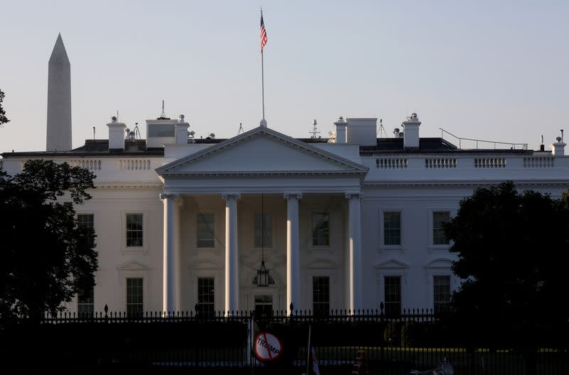 FILE PHOTO: A general view of the White House in Washington