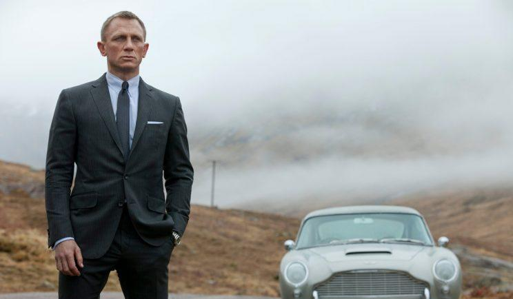 Daniel Craig stars as Bond... James Bond - Credit: MGM/Eon