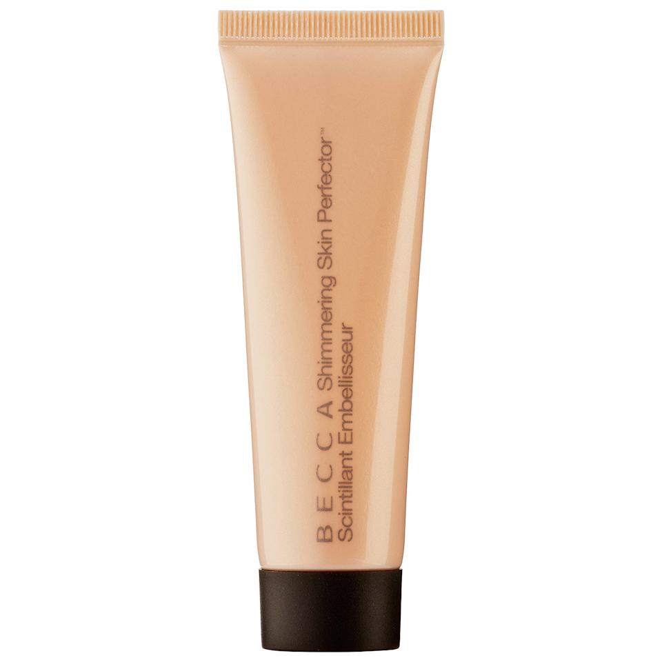 """<p><strong>Becca</strong></p><p>sephora.com</p><p><a href=""""https://go.redirectingat.com?id=74968X1596630&url=https%3A%2F%2Fwww.sephora.com%2Fproduct%2Fshimmering-skin-perfector-liquid-highlighter-mini-P422074&sref=https%3A%2F%2Fwww.townandcountrymag.com%2Fstyle%2Fbeauty-products%2Fg31677889%2Fspring-2020-sephora-beauty-sale-best-picks%2F"""" target=""""_blank"""">Shop Now</a></p><p>$11</p><p><em>Original Price: $19</em></p>"""