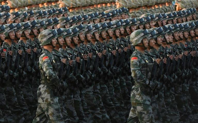 China is engaged in a decades-long build-up and modernisation of its once-backward armed forces
