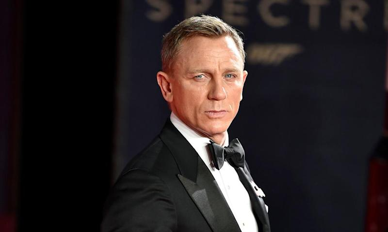 Daniel Craig at the premiere of Spectre in 2015.