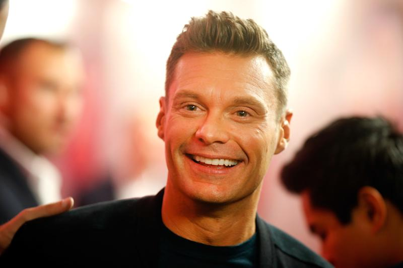 """""""Live With Kelly and Ryan"""" co-host Ryan Seacrest disputed the accusations and called them """"reckless."""" (Isaac Brekken via Getty Images)"""