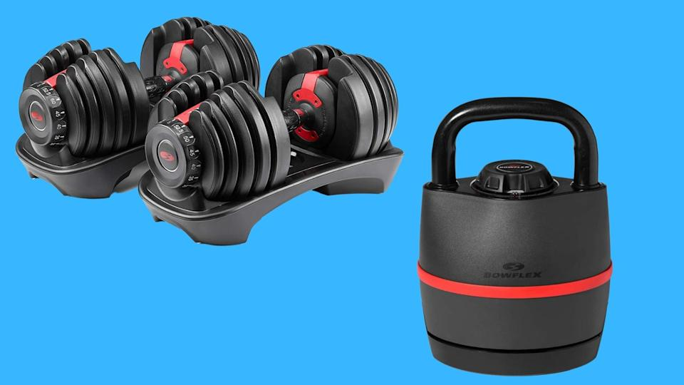 Bowflex kettlebells and dumbbells are on sale at up to 27 percent off at Amazon. (Photo by Amazon)