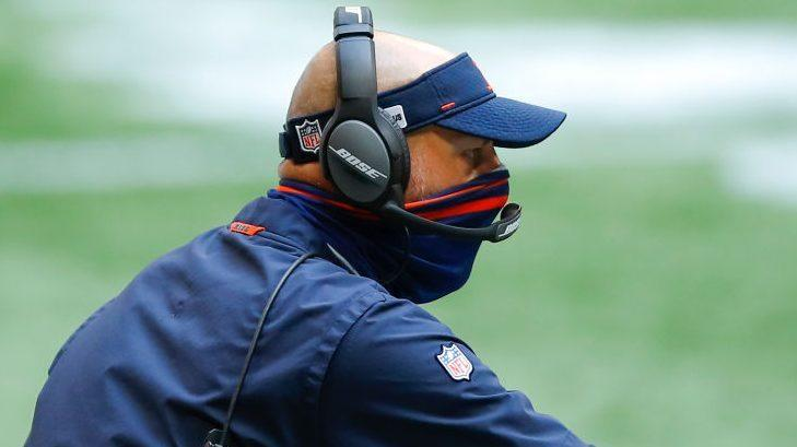 Matt Nagy: It's not hard to wear your mask all the time
